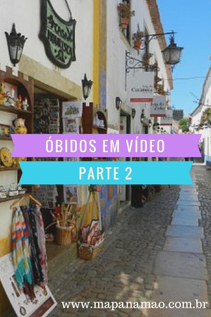 óbidos portugal em vídeo