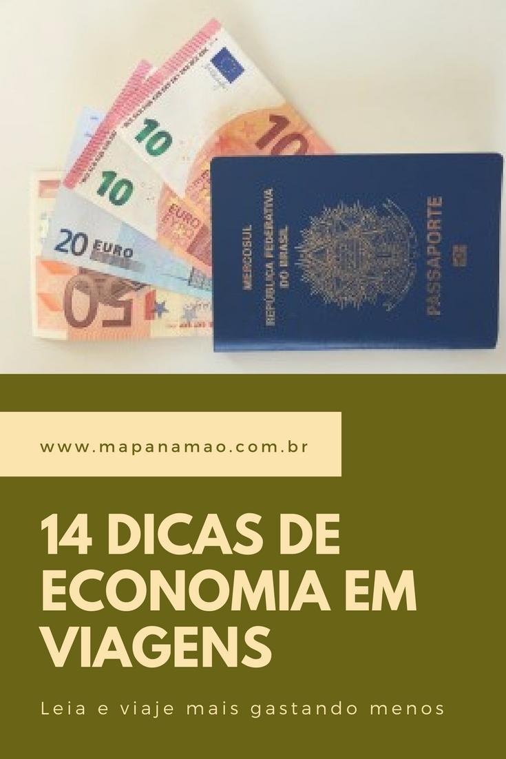 dicas de economia em viagens