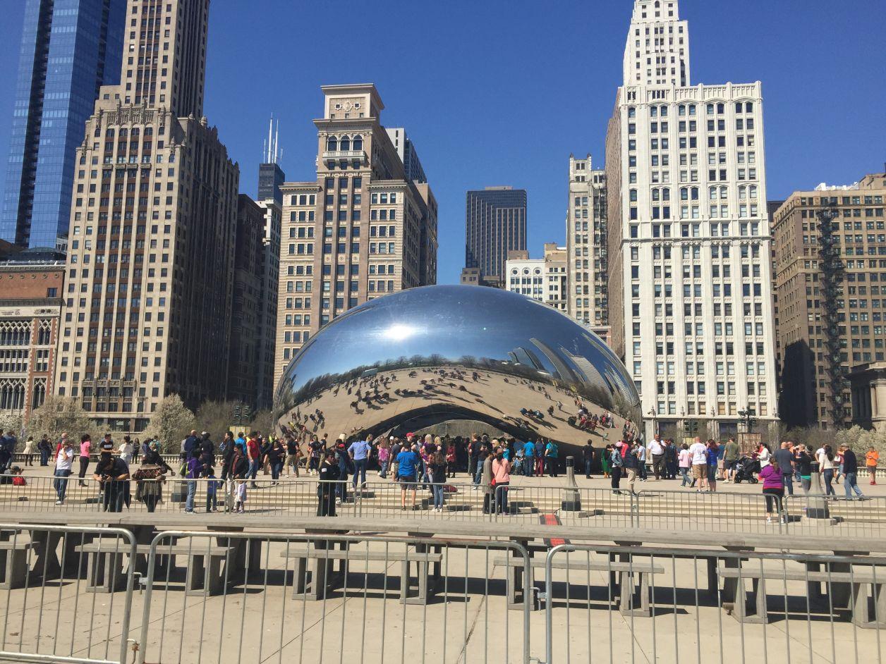 cloud Gate feijão em chicago