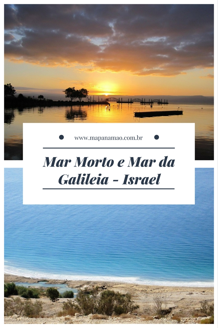 mar morto e mar da galileia