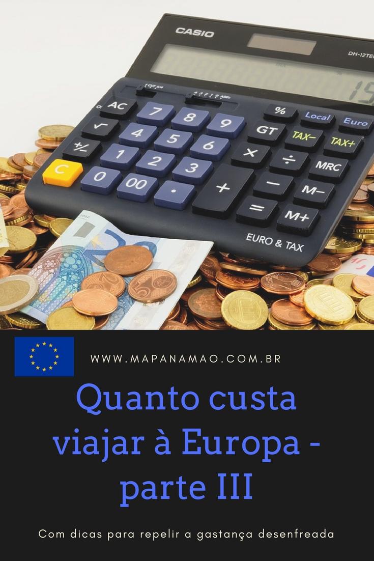 gastos na europa