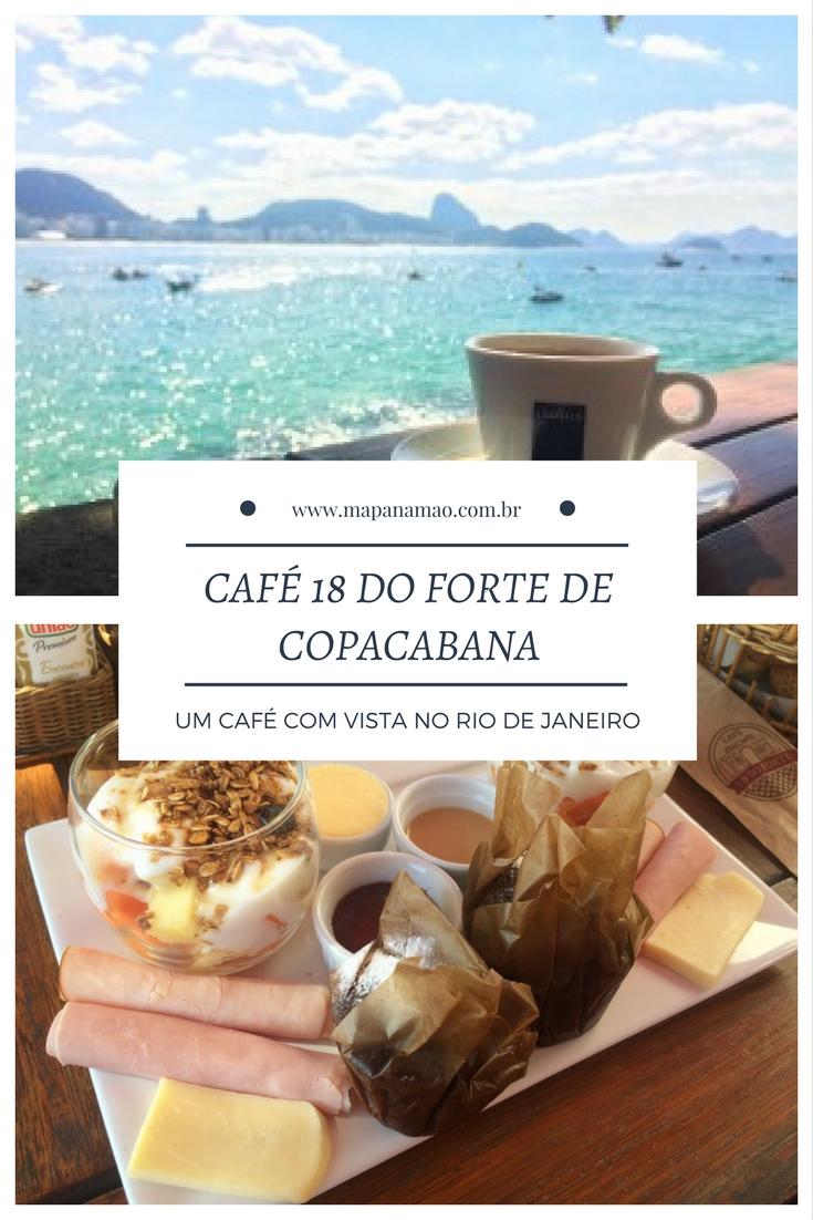 café 18 do forte de copacabana