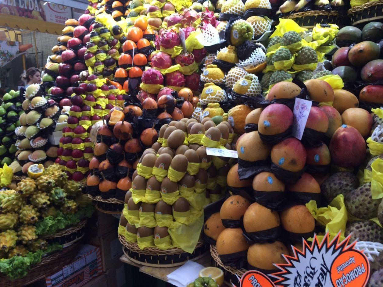 Frutas no Mercado Municipal