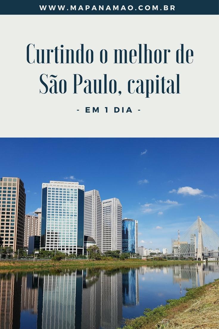 O que fazer em São Paulo: dicas de comidas e passeios baratos para curtir o melhor de São Paulo em 1 dia! Roteiro ótimo para quem tem pouco tempo na cidade.