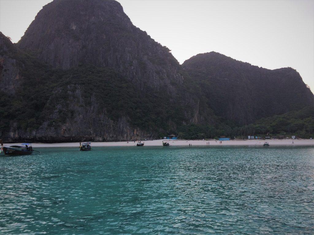 Maya Bay filme A Praia