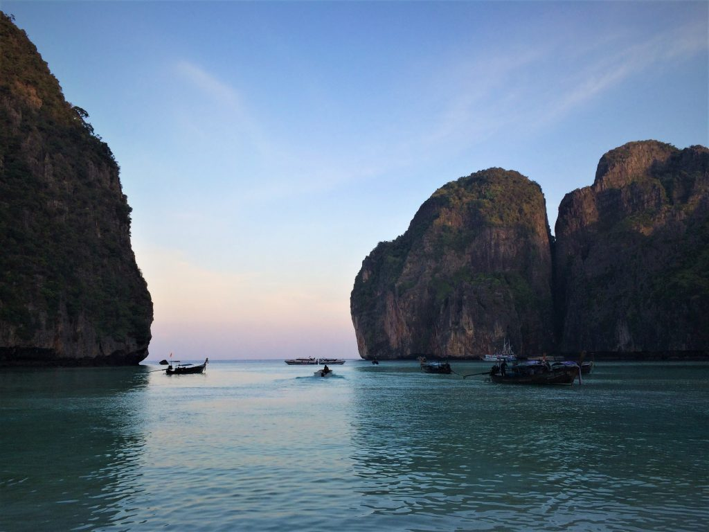 Koh Phi Phi filme a praia