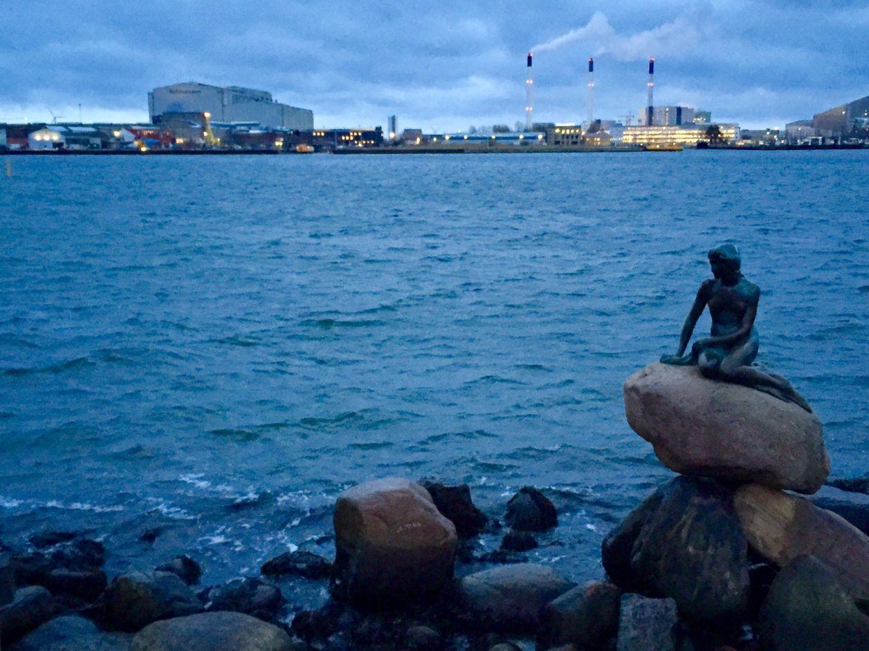 a pequena sereia Copenhague