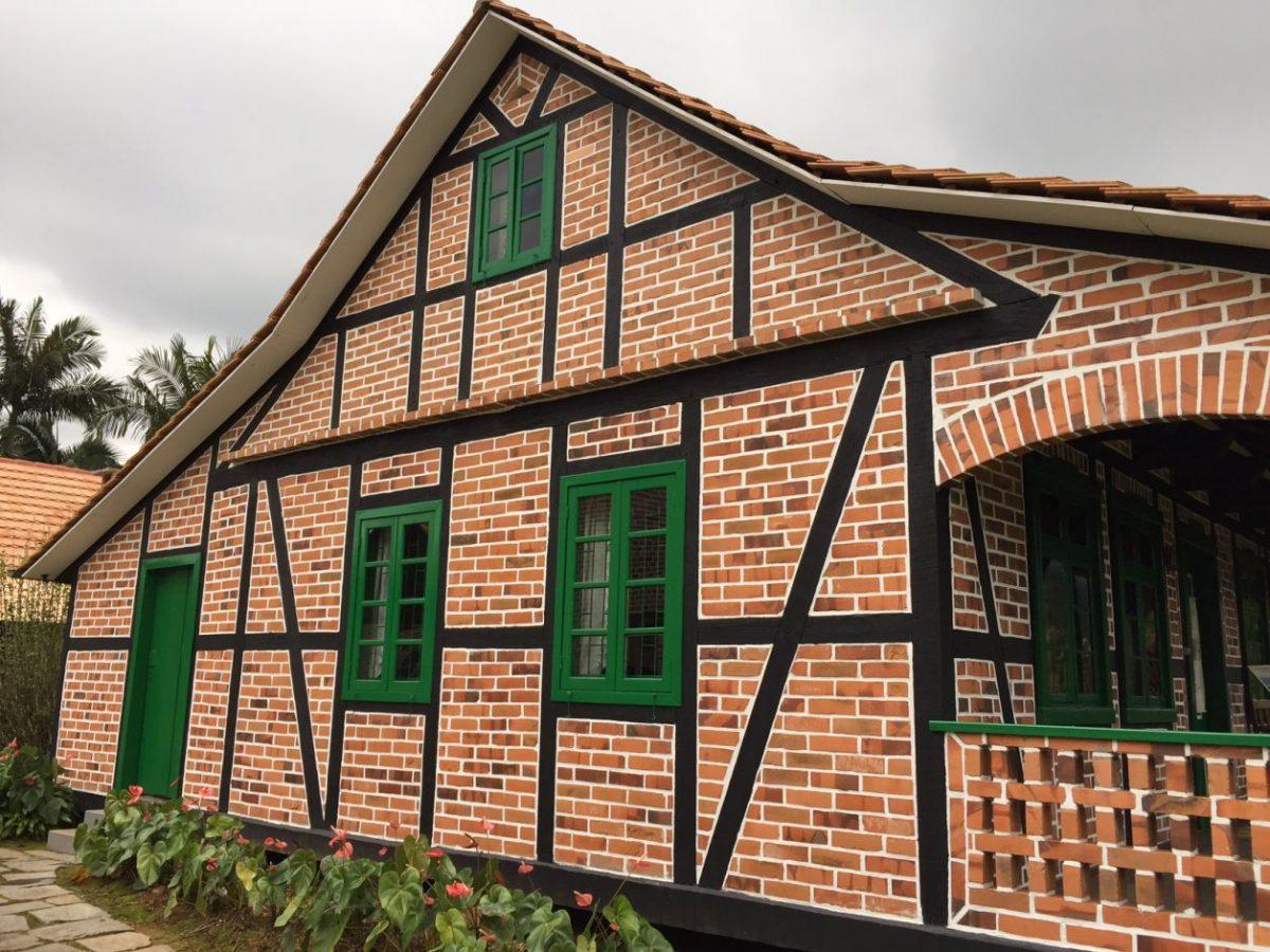 casa em estilo enxaimel
