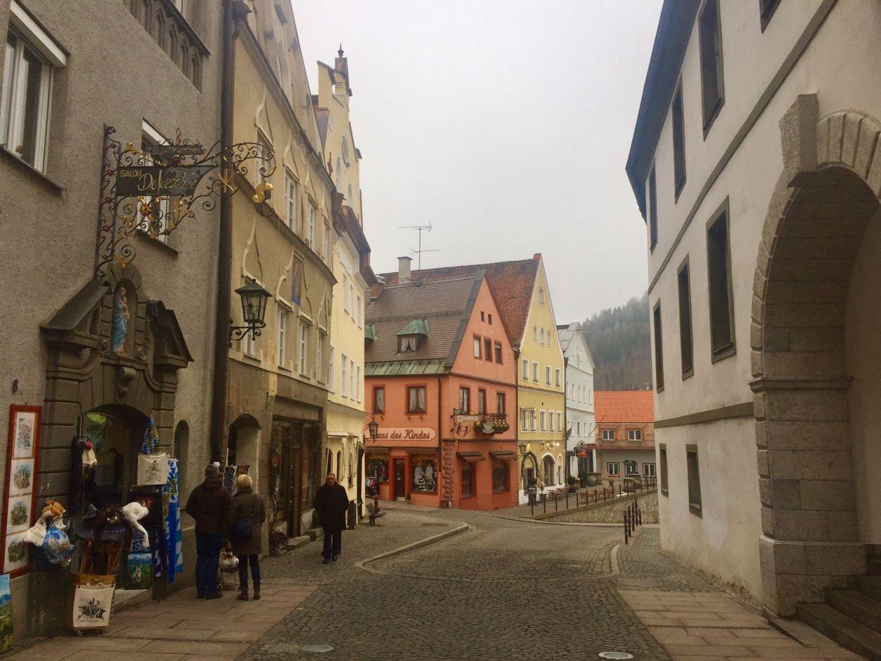 centro antigo fussen