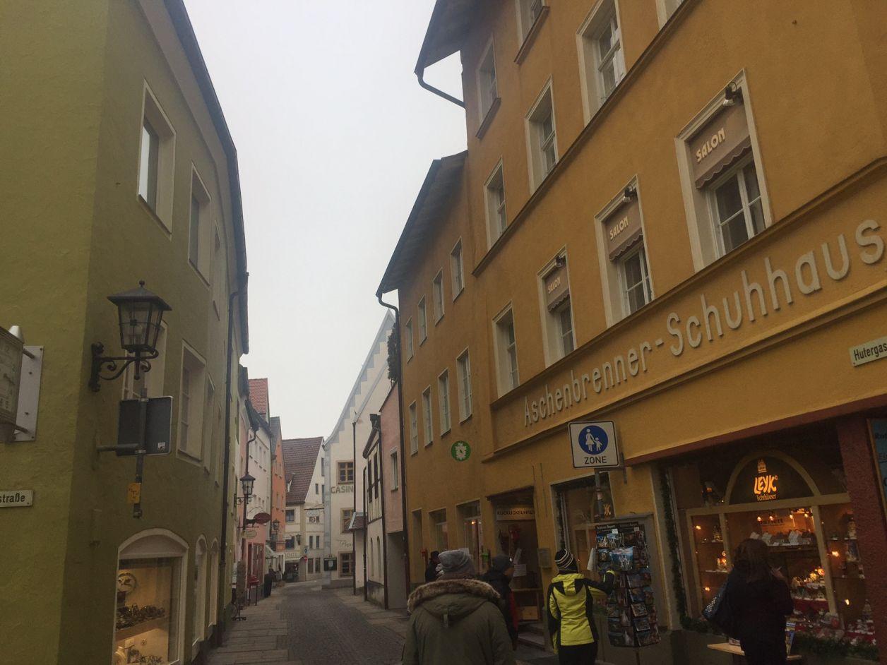 centro histórico fussen alemanha