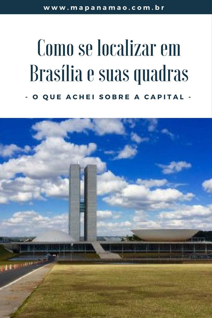 como se localizar em Brasília