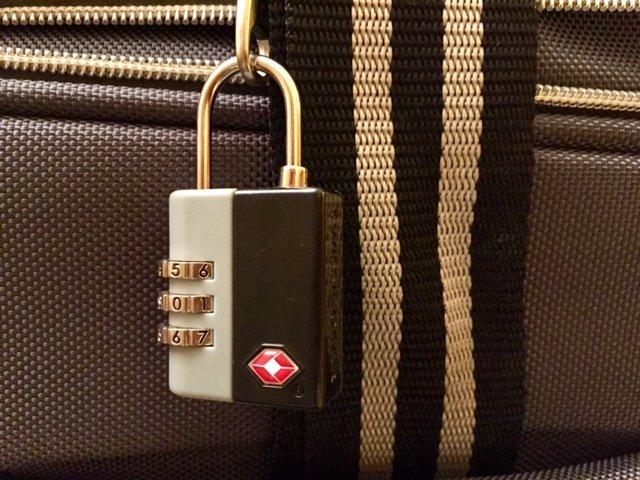 Como evitar o furto de malas