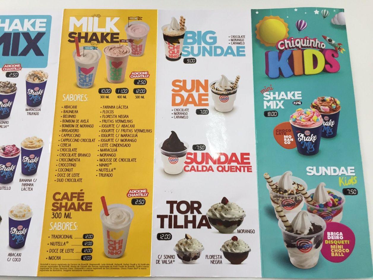 chiquinho sorvetes sundae