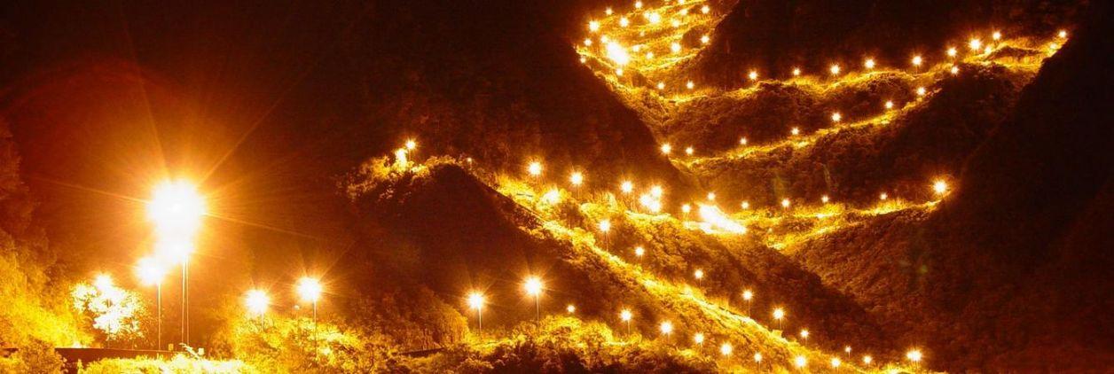 serra catarinense iluminada