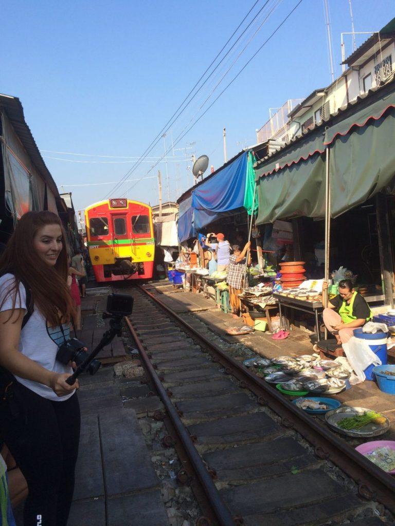 mercado trem bangkok