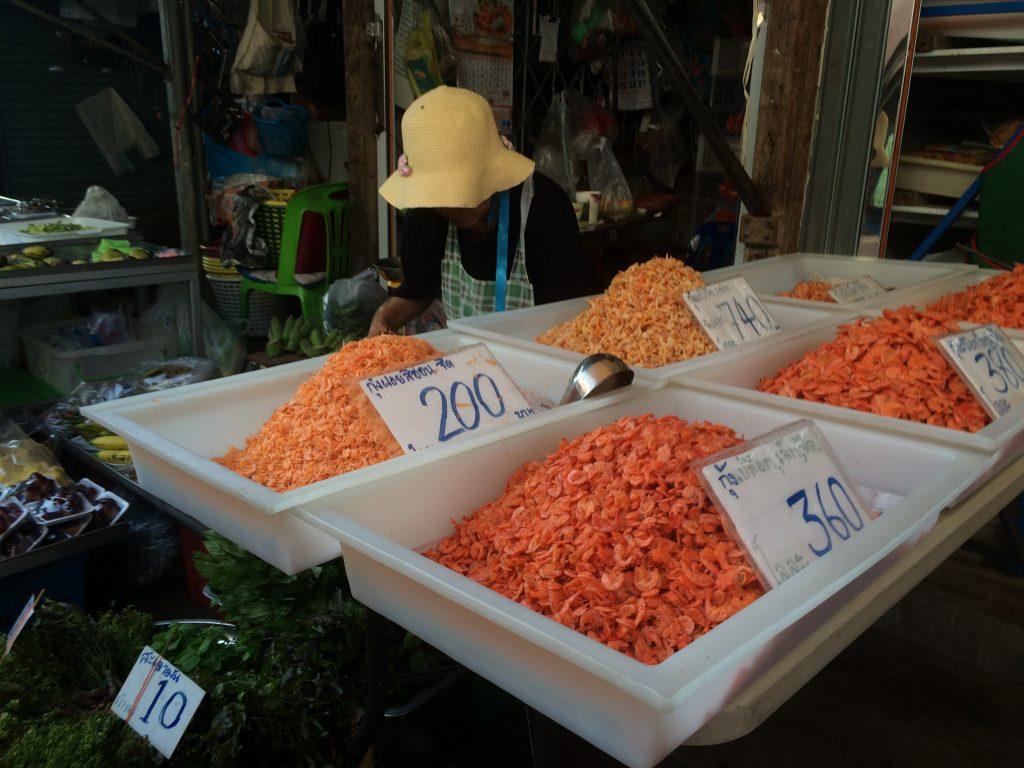 Bangkok mercado do trem