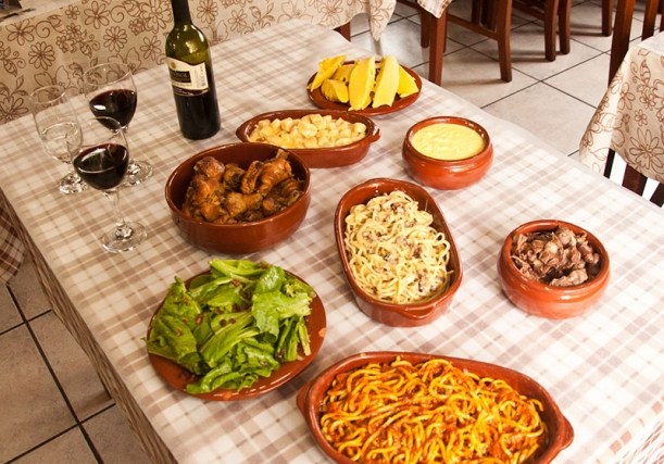 Restaurante em Nova Veneza