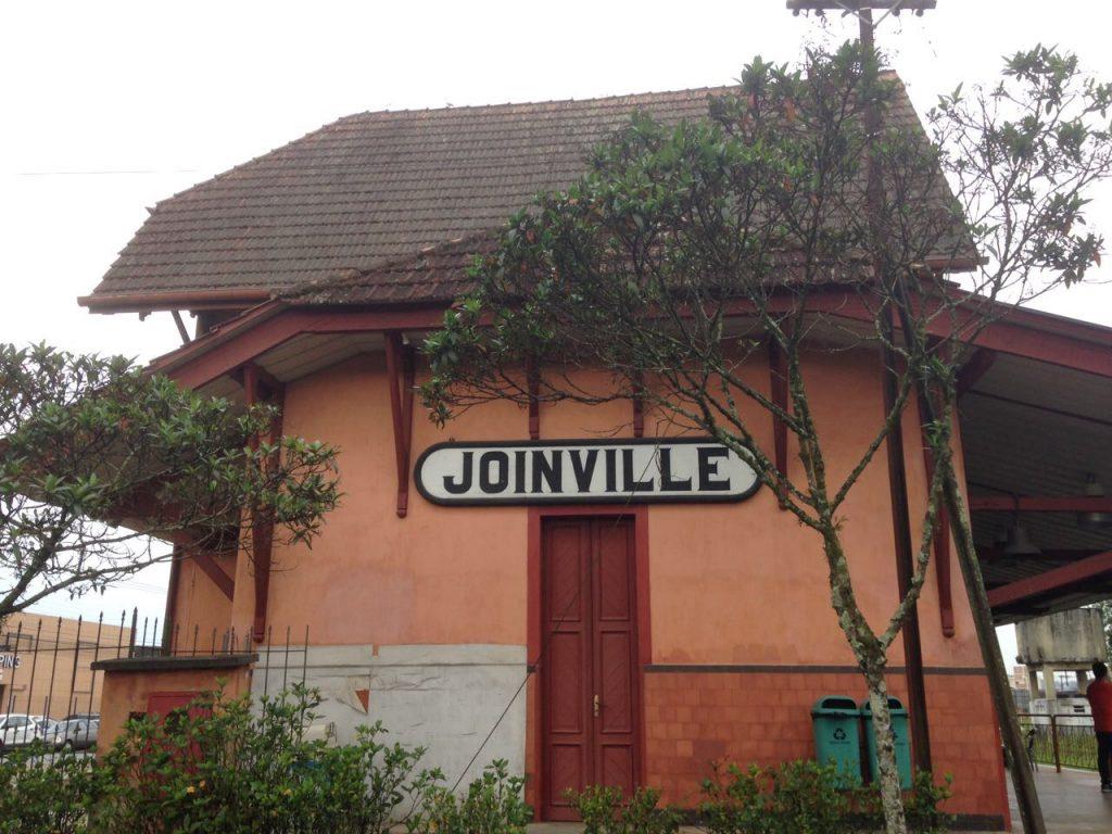 Estação ferroviária Joinville