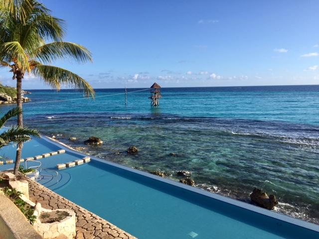 parque garrafon em cancun