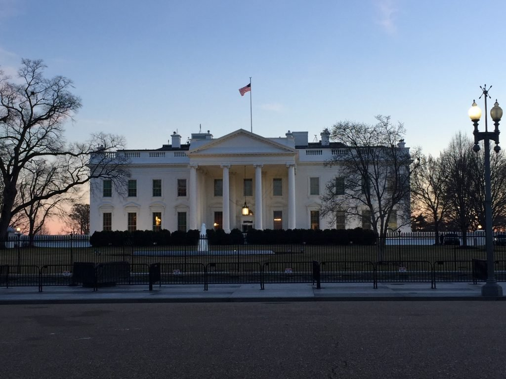 casa branca em washington dc estados unidos