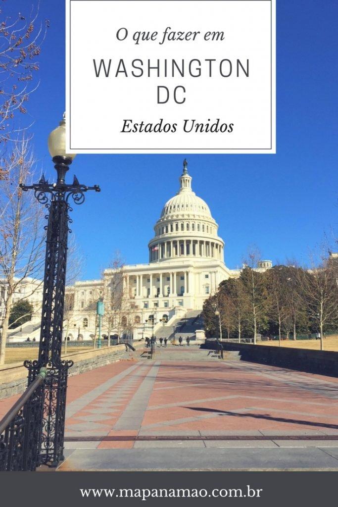 o que fazer na capital dos Estados Unidos