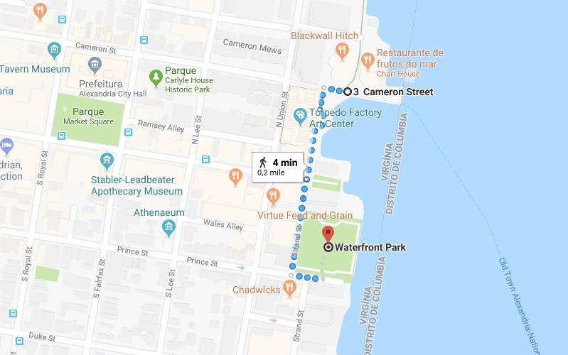 waterfront park alexandria virgínia