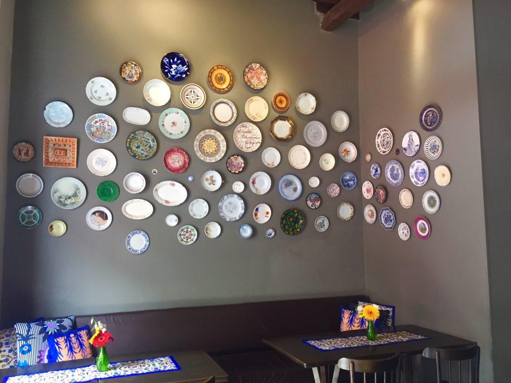 Ambiente do Restaurante Fabrícios em Santa Teresa