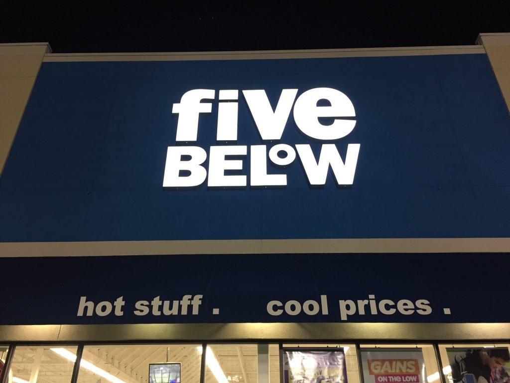 five below compras em orlando