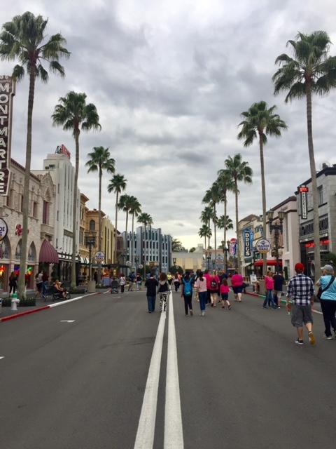 ruas na Universal
