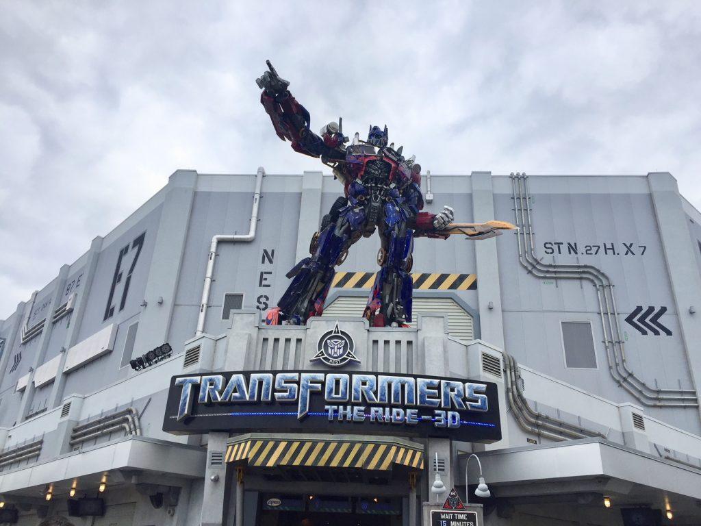 transformers universal studios em orlando