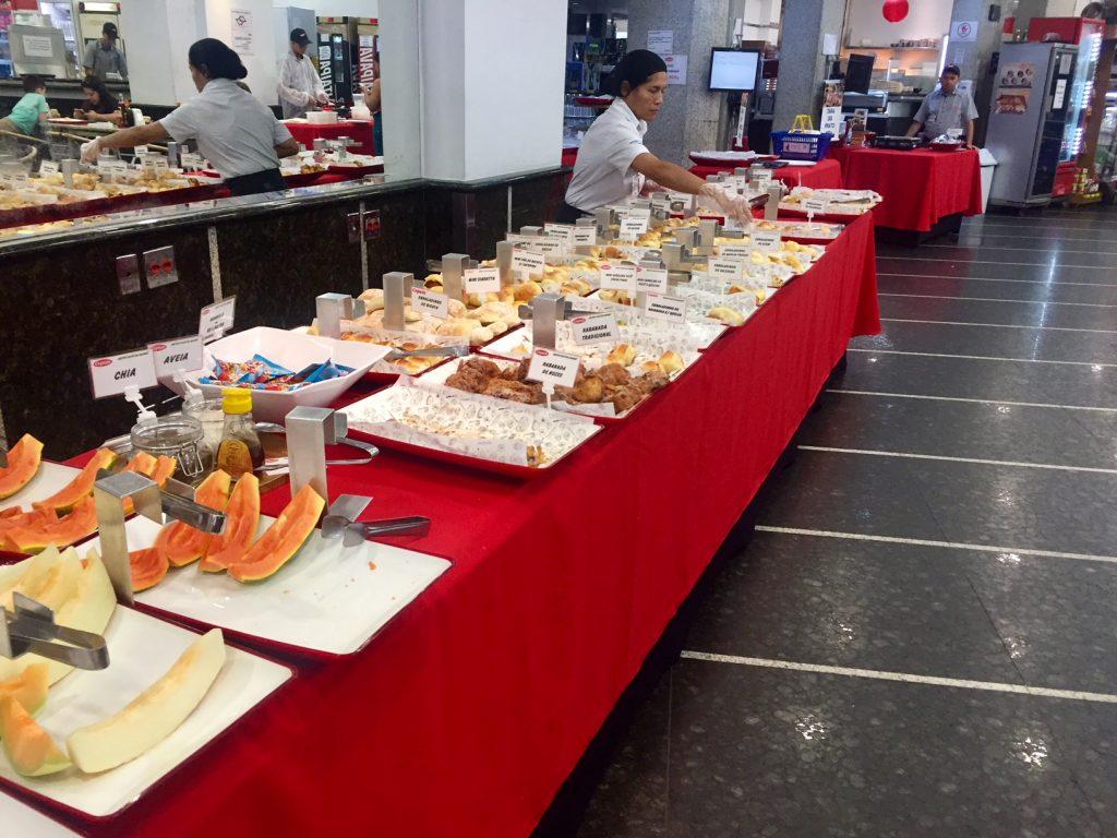 Buffet de café da manhã CEPAM