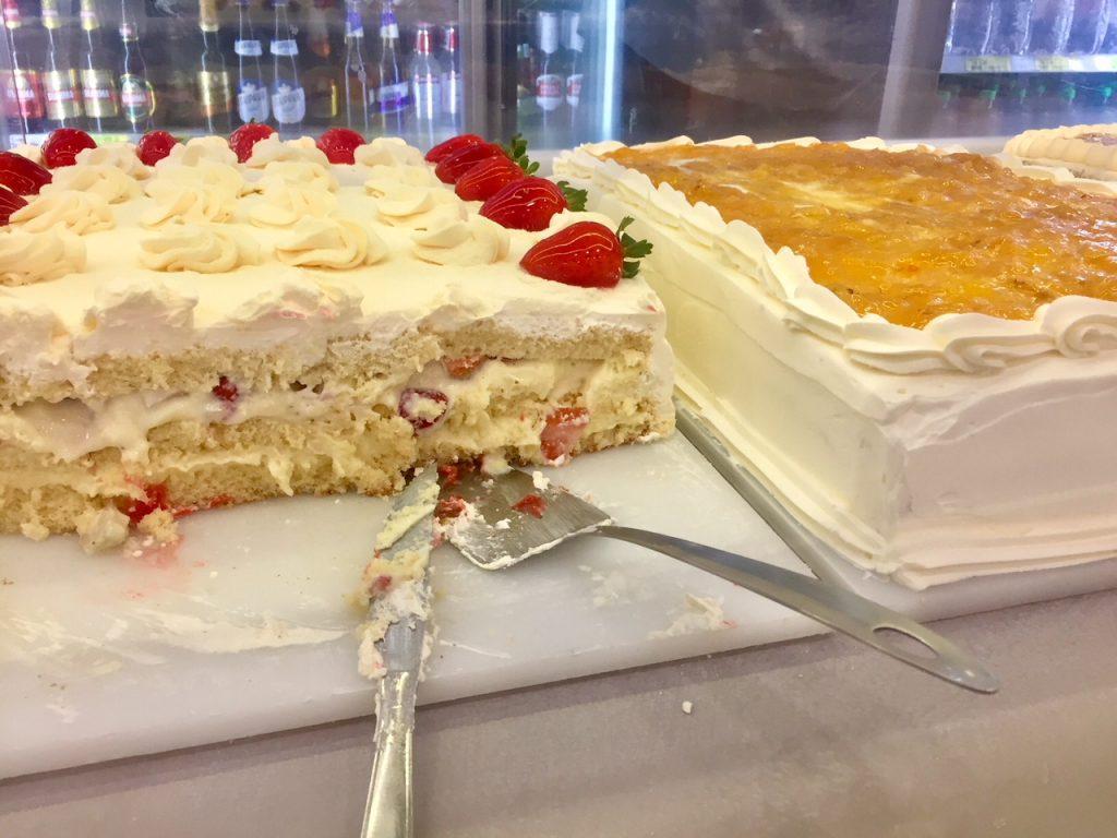 Tortas padaria CEPAM