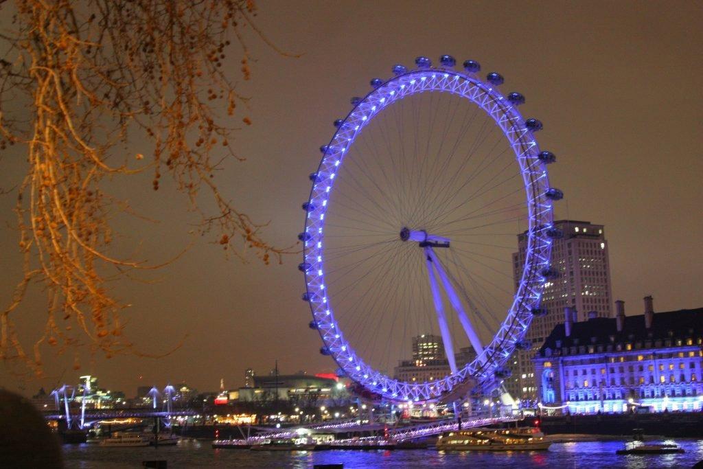 passeios em Londres London Eye