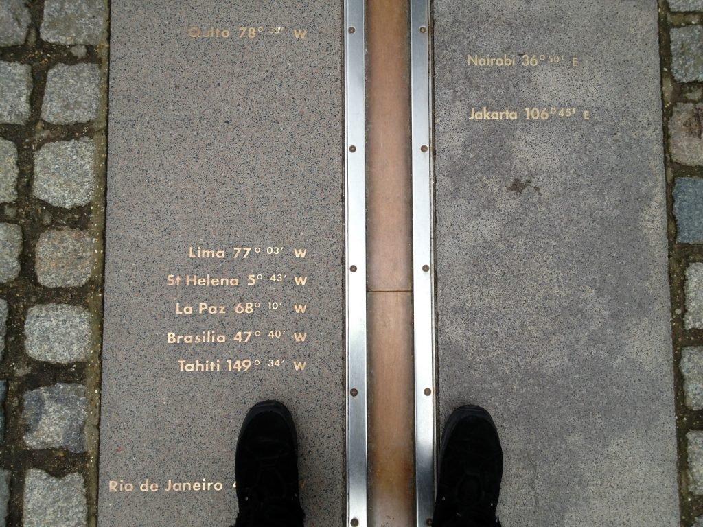 Meridiano de Greenwich em Londres