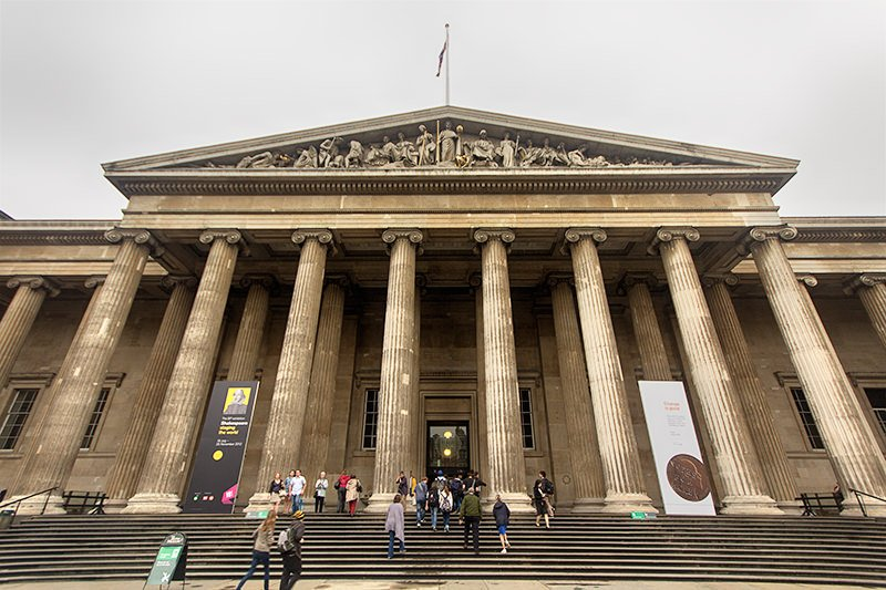 Museu Britânico em Londres