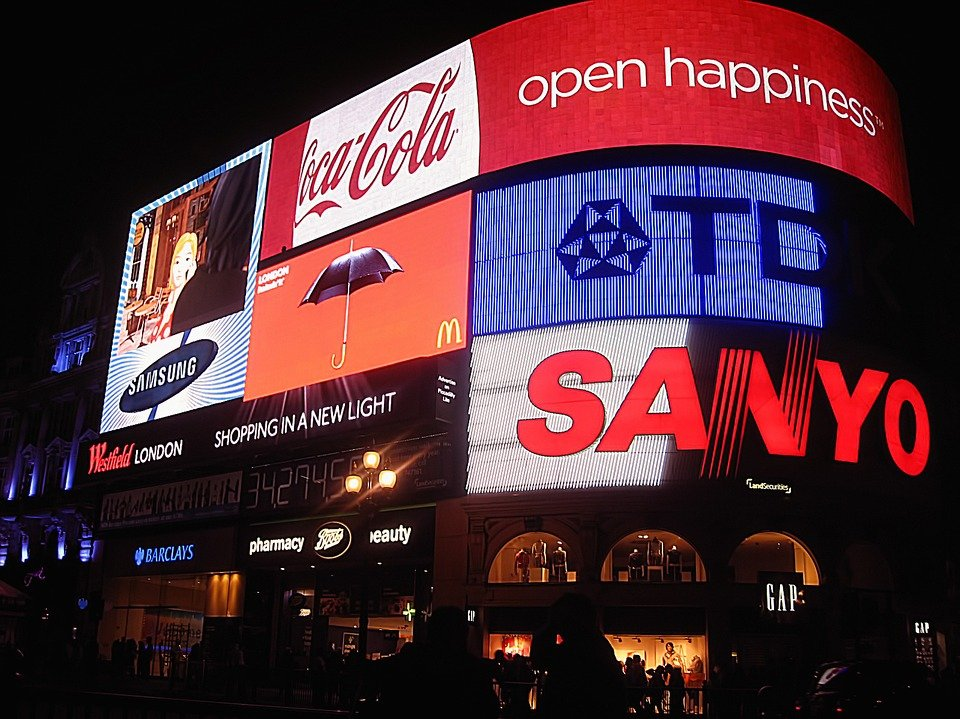 picadilly Circus em Londres