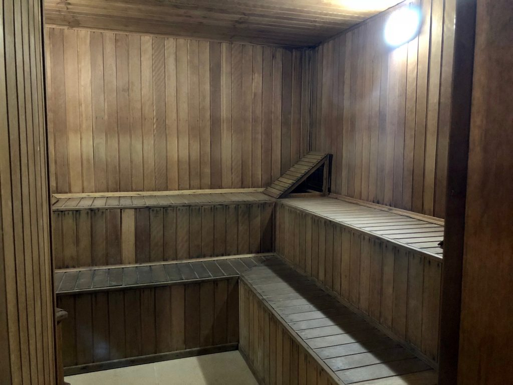 sauna seca do hotel metropole maringa