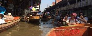 Mercado flutuante de Bangkok e mercado do trem de Maeklong: valem a pena?