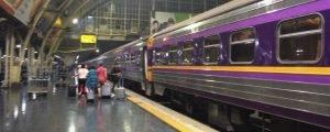 Trem noturno de Bangkok a Chiang Mai – vale a pena?