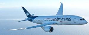Como foi voar com a Aeroméxico