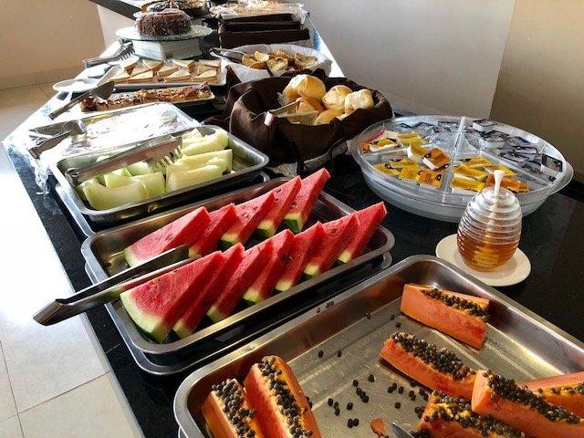 café da manhã hotel em bonito ms