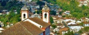 Ouro Preto, Tiradentes, Chapada Diamantina e Trancoso em uma só