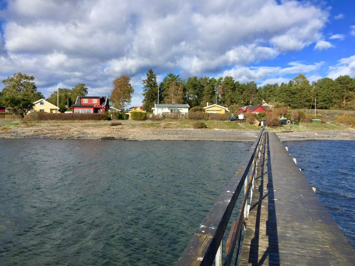 Oslo fiorde ilhas