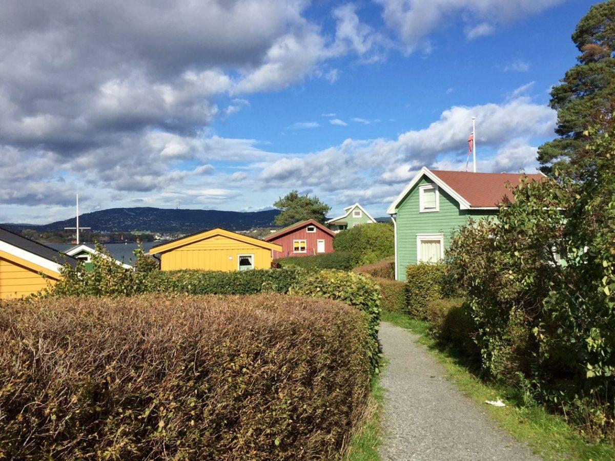 Lindoya ilha perto de Oslo