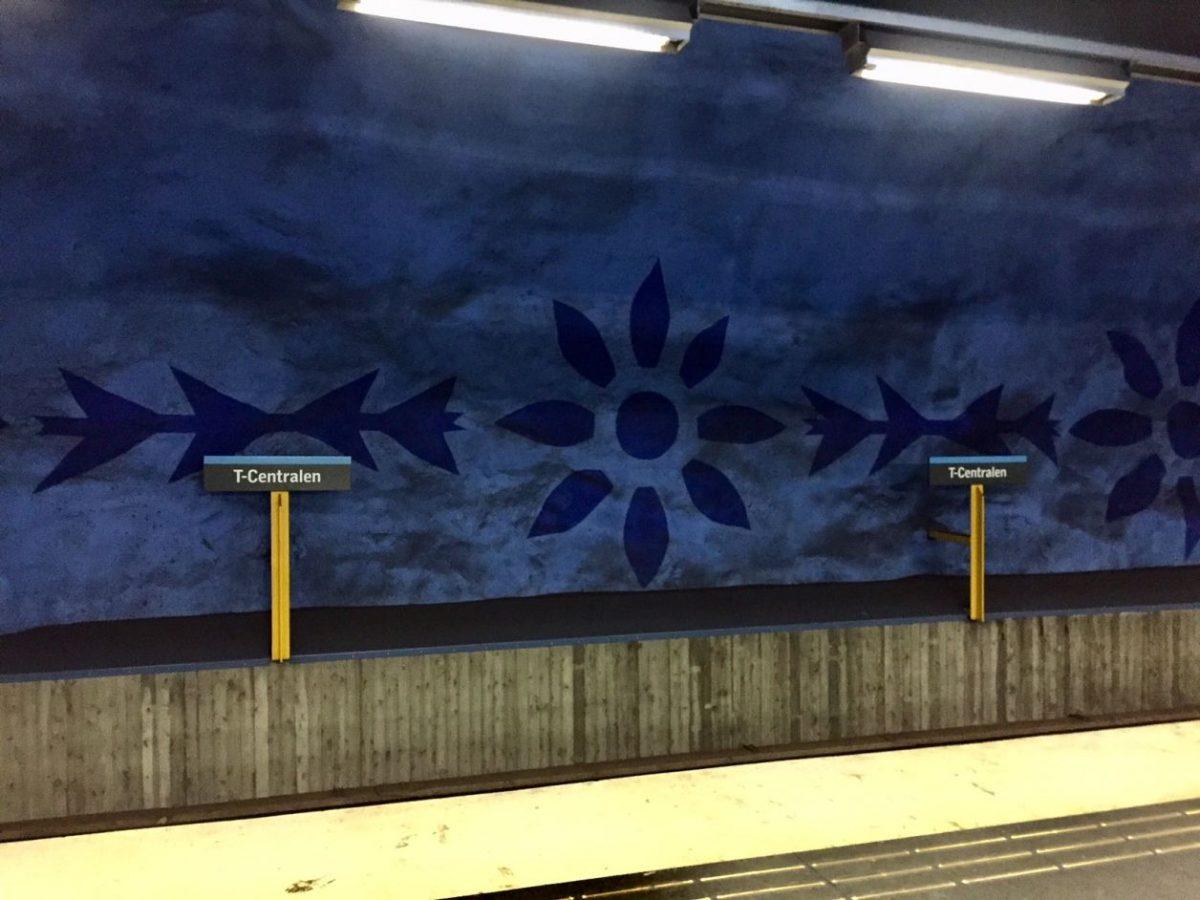 Estocolmo metrô