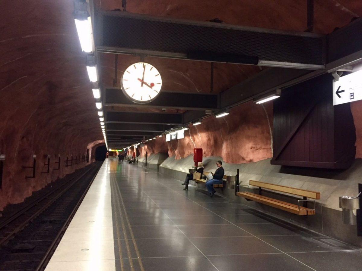 estações Estocolmo