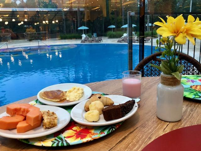 Café da manhã em hotel