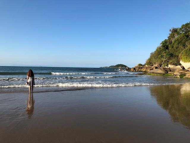 praia do molhe sao francisco do sul