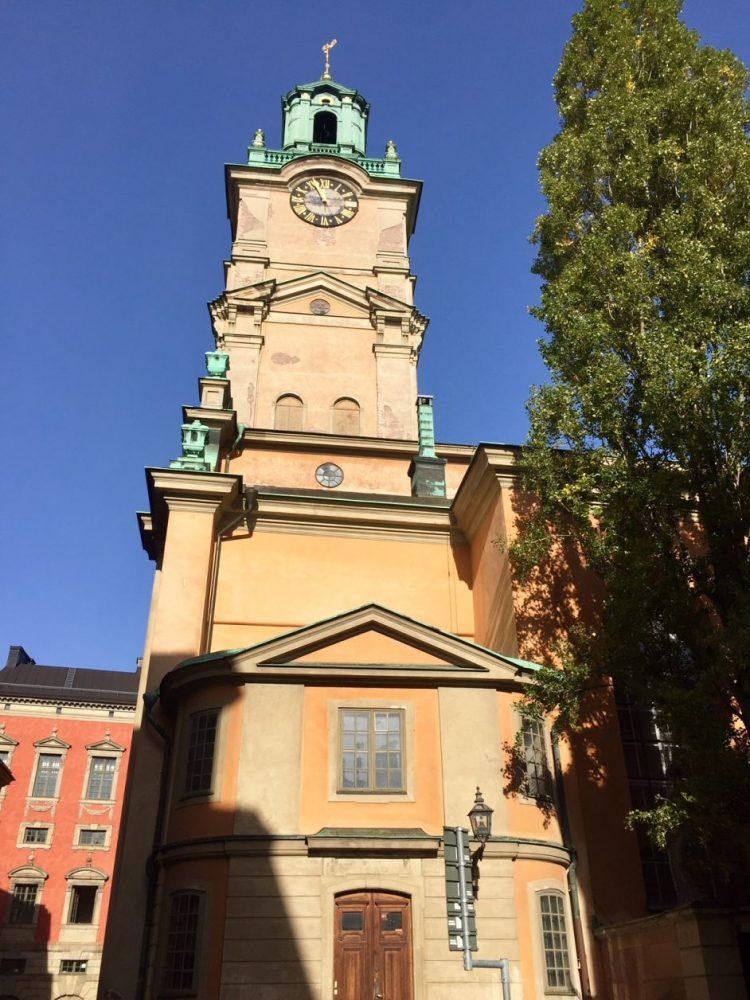 Igreja Alemã na capital da Suécia