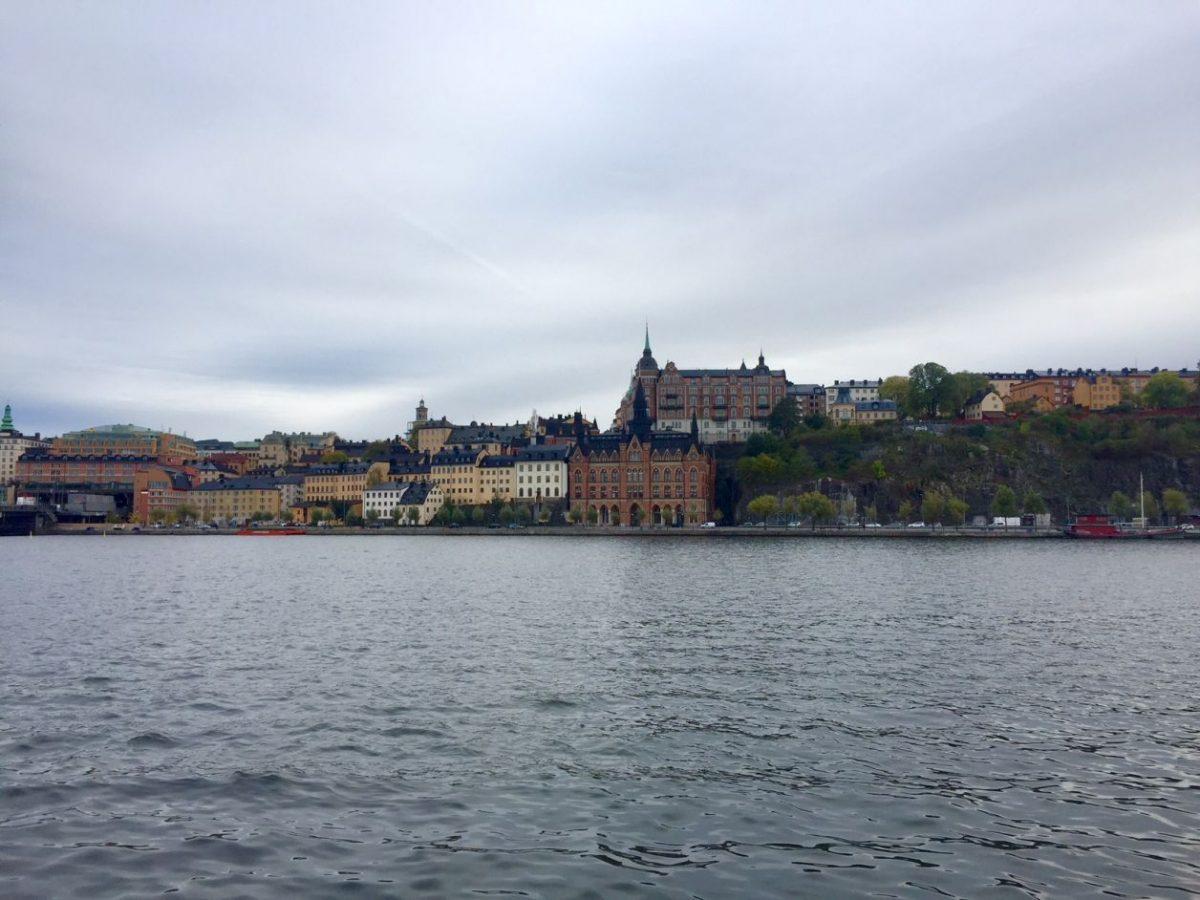 Bela vista a partir de Riddarholmen